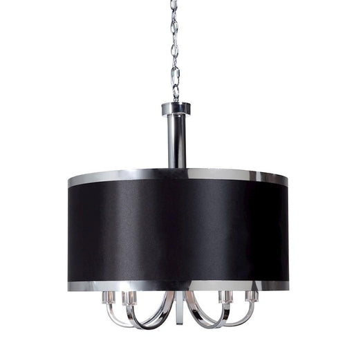 Artcraft Madison 5 Light Chandelier, Black