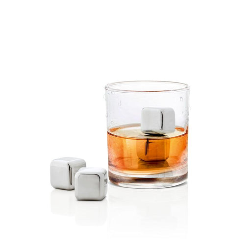 Blomus Lounge 4 Pc Stainless Ice Cubes Set