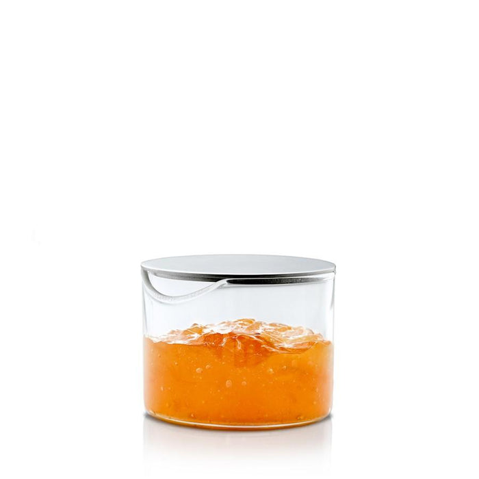 Blomus Basic Condiment Glass With Lid - 63619
