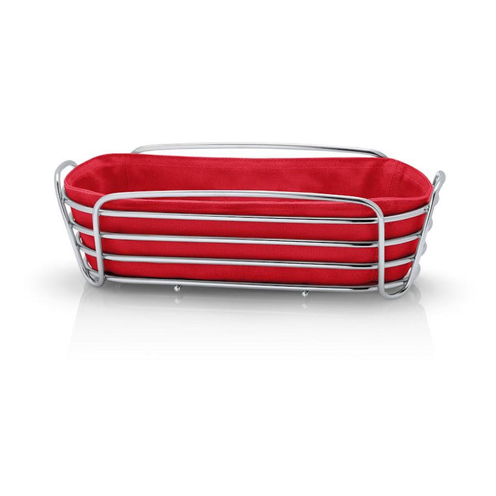 Blomus Delara Bread Basket, Red - 63674