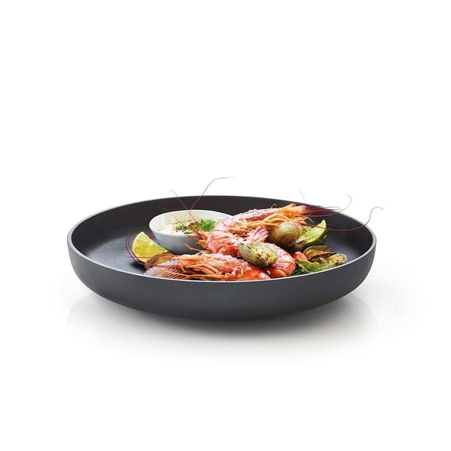 Blomus Ono Cast Iron Serving Bowl Tray, XLarge - 63683