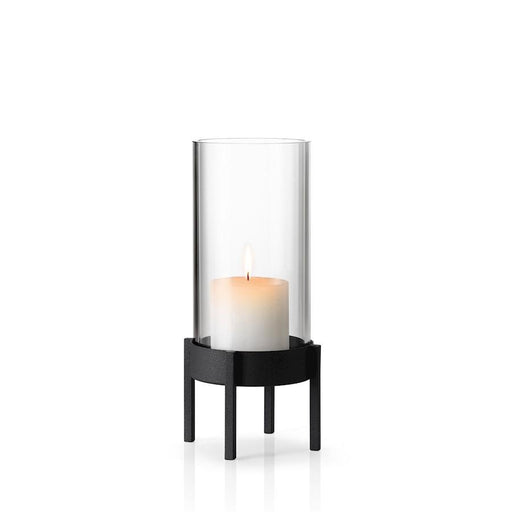 Blomus Nero Hurricane Candle Holder, Medium