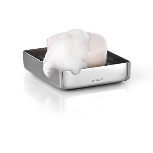 Blomus Nexio Soap Dish with Rail, Polished - 68621