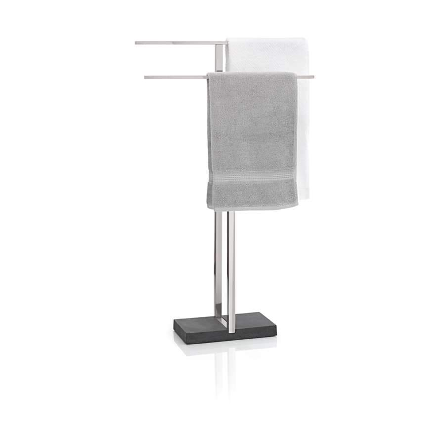 Blomus Menoto Towel Rack with Black Base - 68624