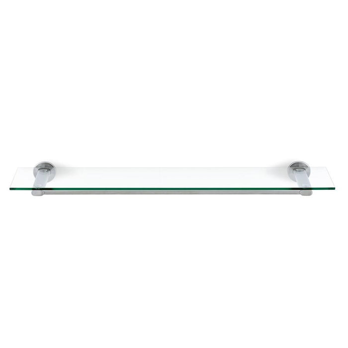 Blomus Areo Shower Shelf, Matt, Stainless Steel, Clear Glass - 68923