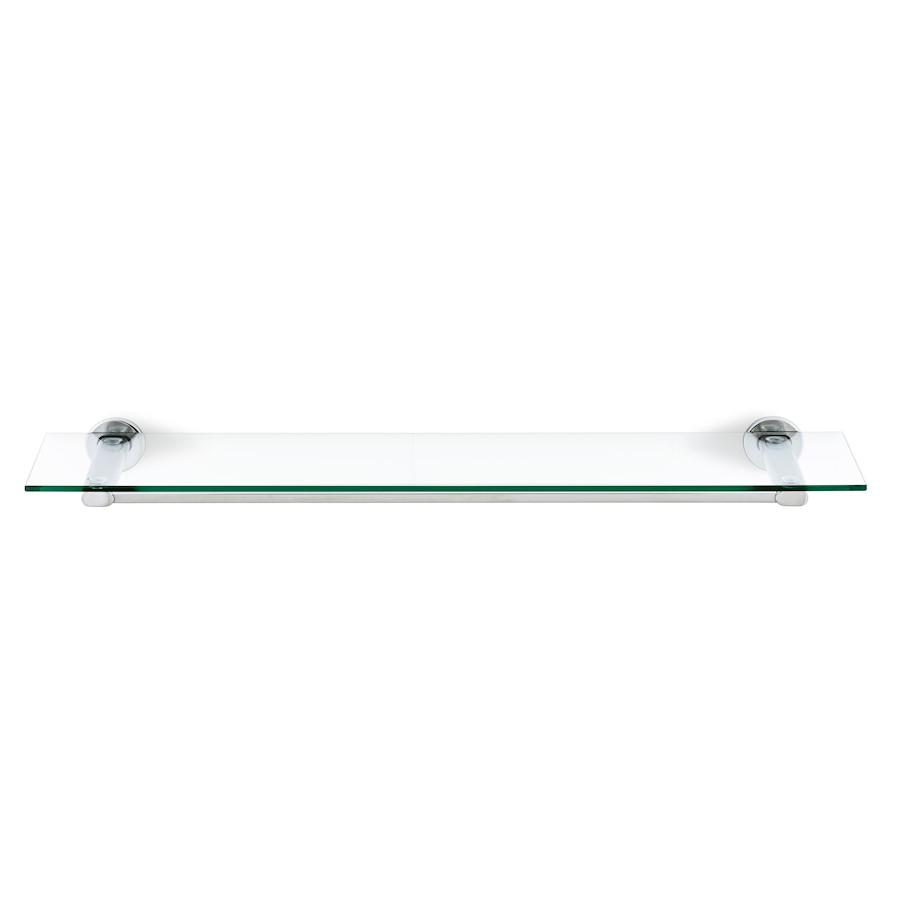 Blomus Areo Shower Shelf, Polish, Stainless Steel, Glass - 68933