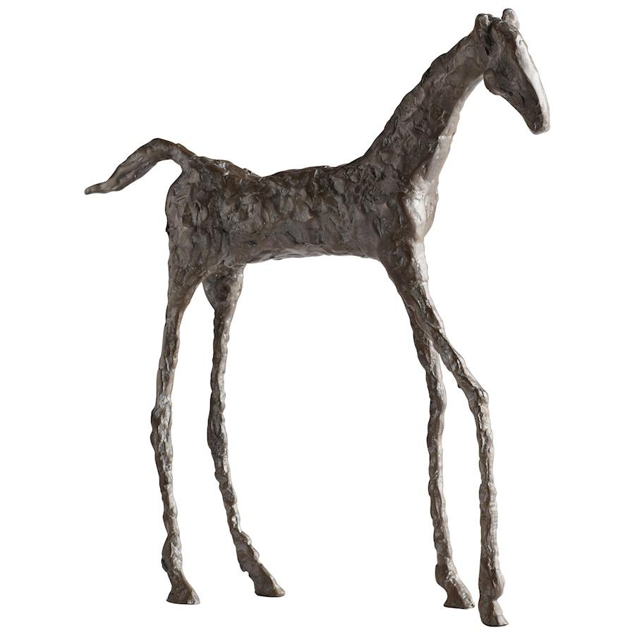 Cyan Design Filly Sculpture, Bronze