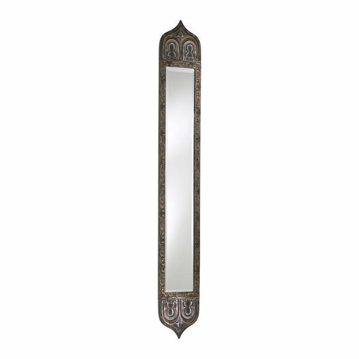 Cyan Design Skinny Tall Mirror, Rustic With Verde