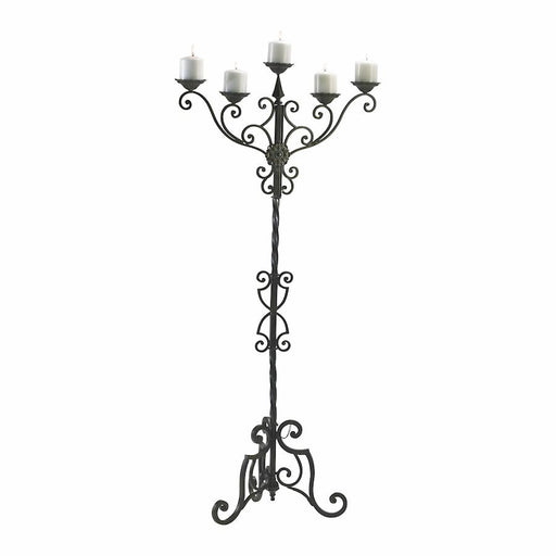 Cyan Design Rialto Floor Candelabra, Antique Patina