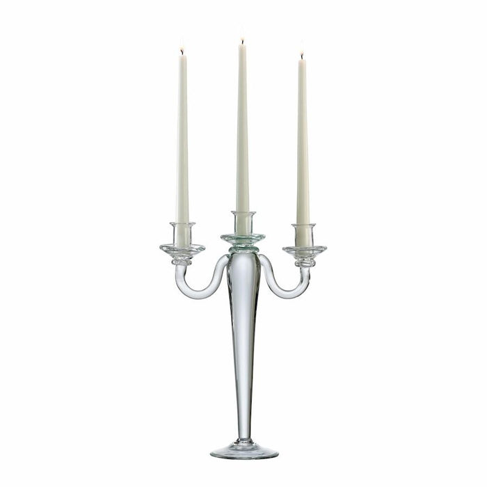 Cyan Design Three Light Candelabra, Clear