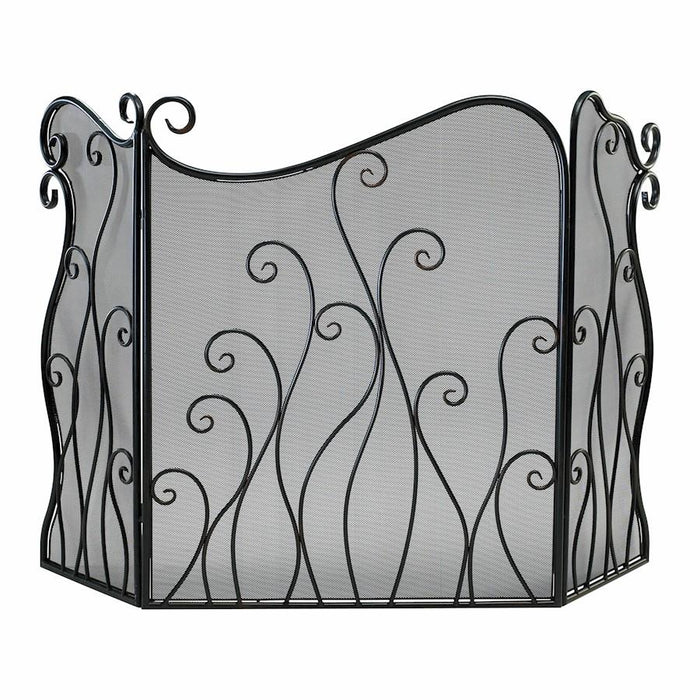 Cyan Design Evalie Fire Screen, Bronze