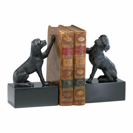 Cyan Design Dog Bookends set of 2, Old World