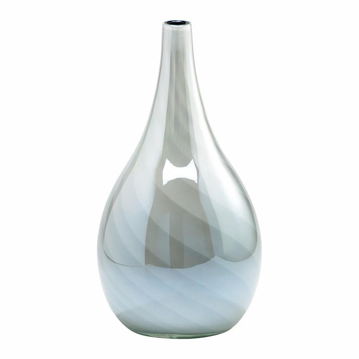 Cyan Design Petra Vase, White and Smoked