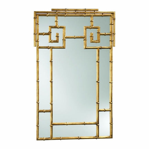 Cyan Design Bamboo Mirror, Gold