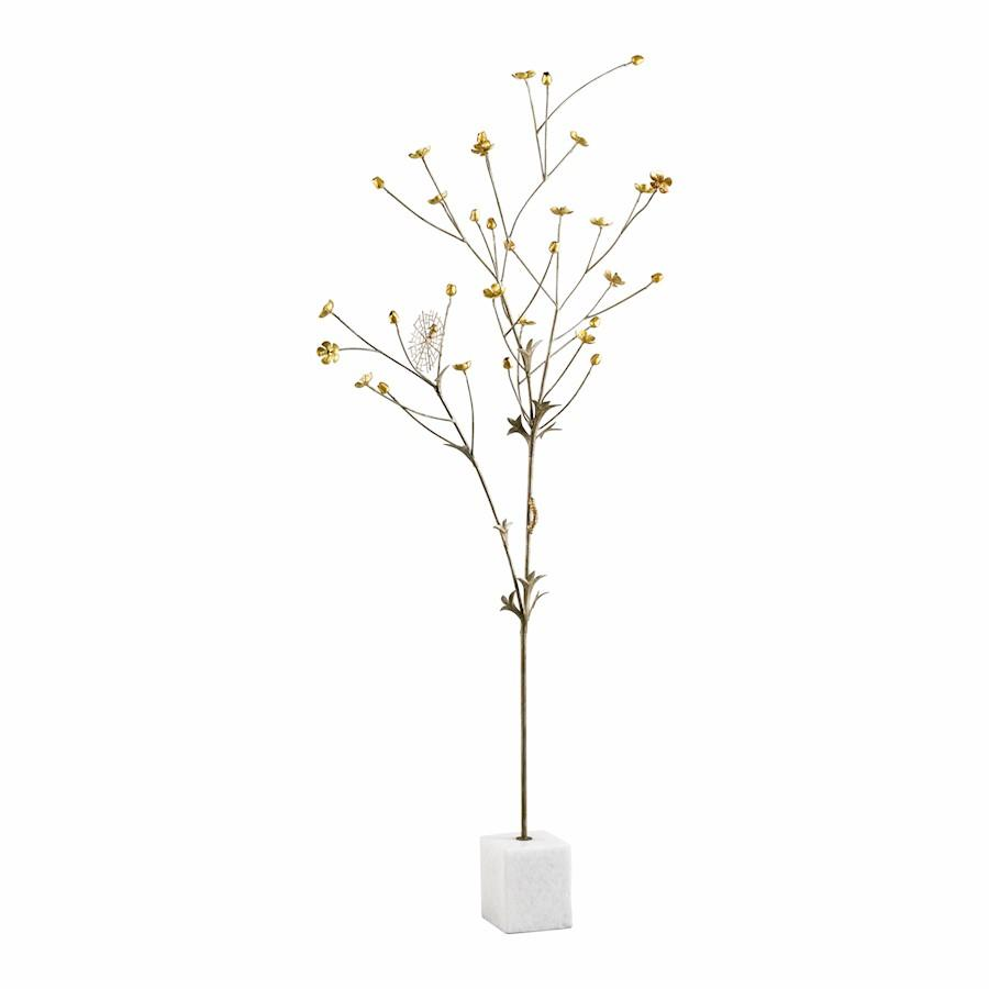 Cyan Design Flower Tree, Bronze