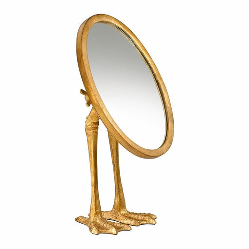 Cyan Design Duck Leg Mirror, Gold