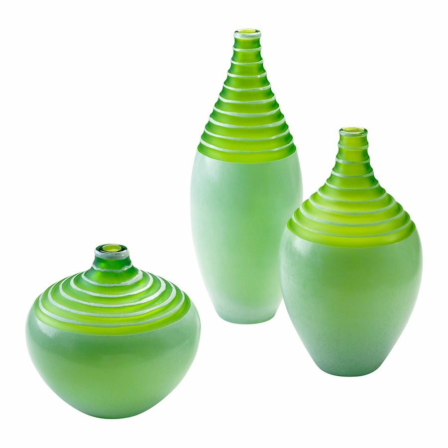 Cyan Design Meadow Vase, Green