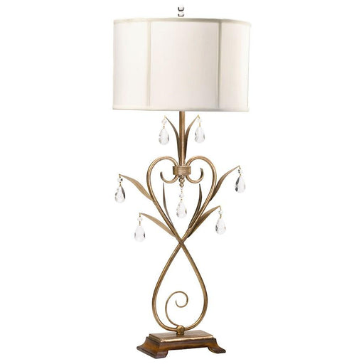 Cyan Design Sophie Table Lamp, Gold Leaf