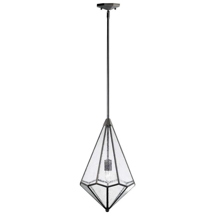 Cyan Design Octagon Pendant, Stainless Steel