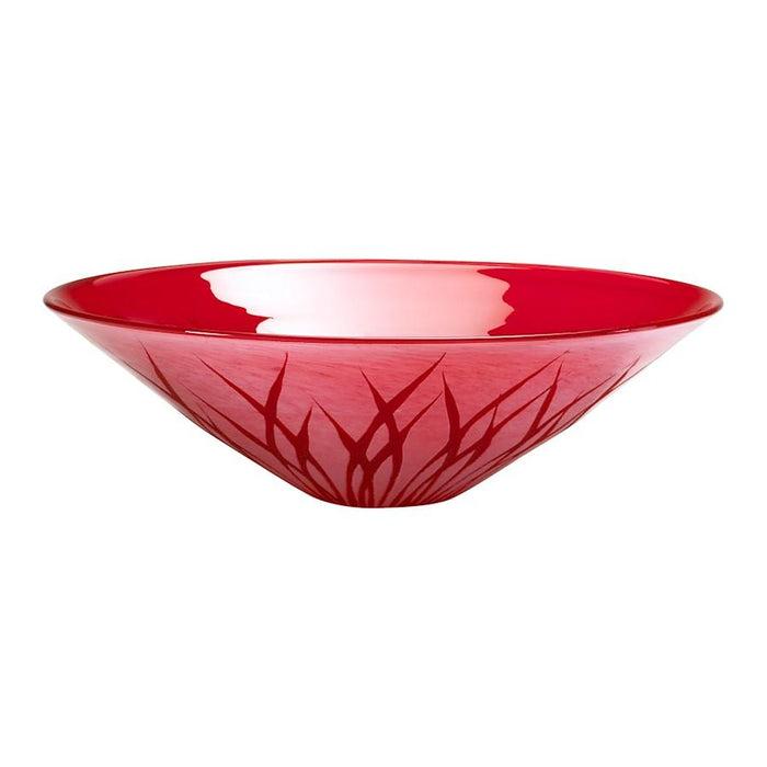 Cyan Design Rouge Plate, Red