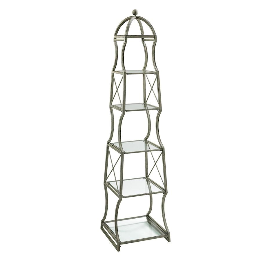 Cyan Design Chester Etagere, Rustic Gray