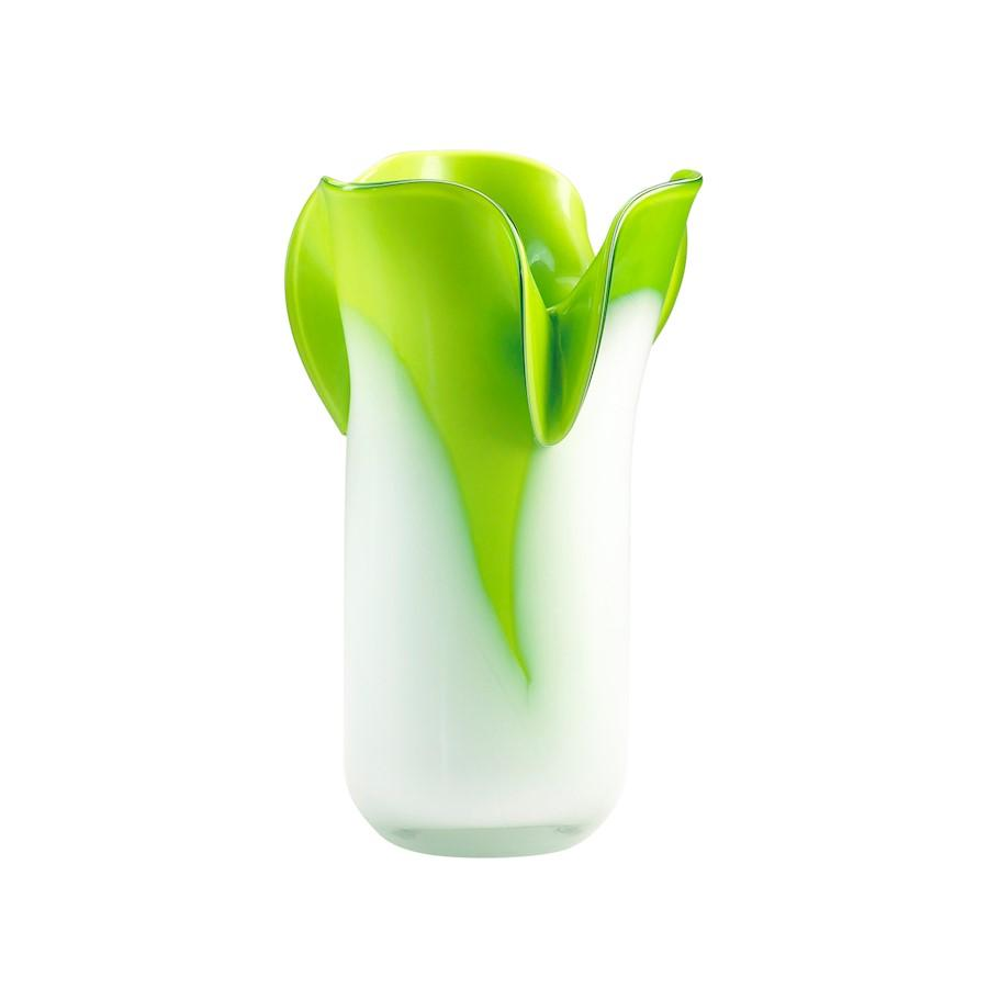 Cyan Design Andre Vase, Green and White