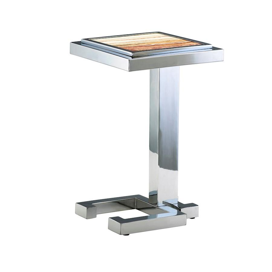 Cyan Design Tandy Accent Table, Chrome