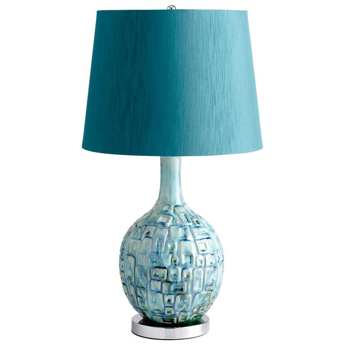 Cyan Design Jordan Lamp, Teal