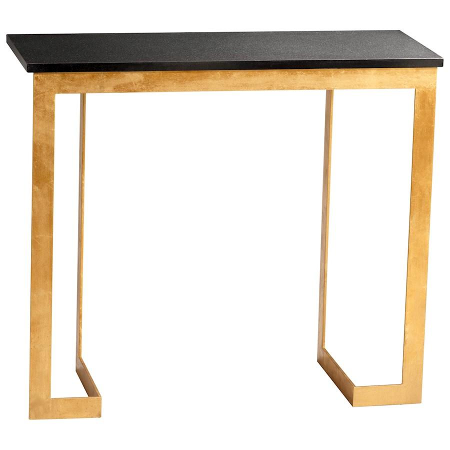 Cyan Design Dante Console Table, Gold and Black