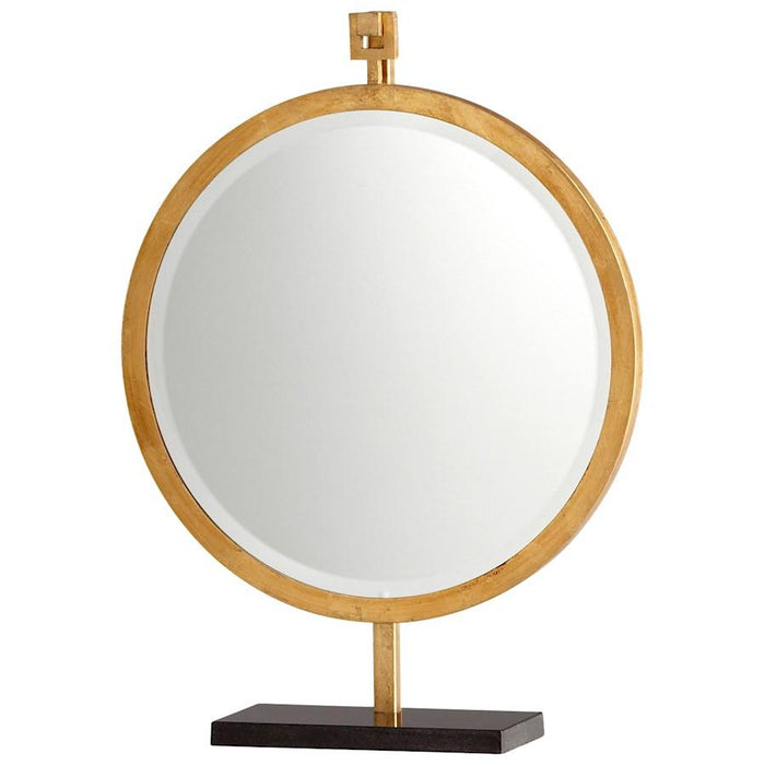 Cyan Design Westwood Mirror on Stand, Gold Leaf