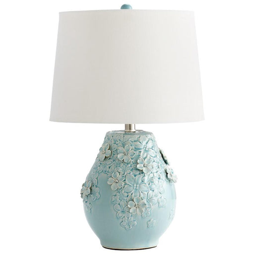 Cyan Design Eire Table Lamp, Sky Blue Glaze