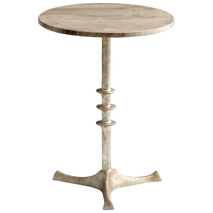 Cyan Design Hyde Side Table, Antique Silver