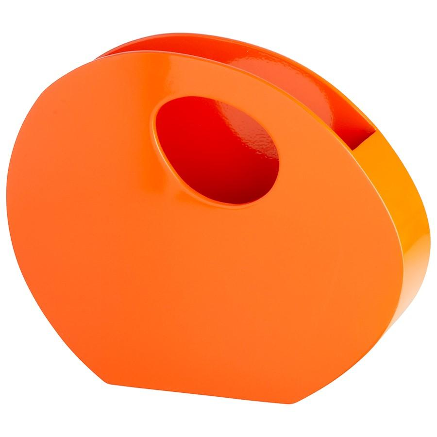Cyan Design Mulholland Container, Orange Lacquer