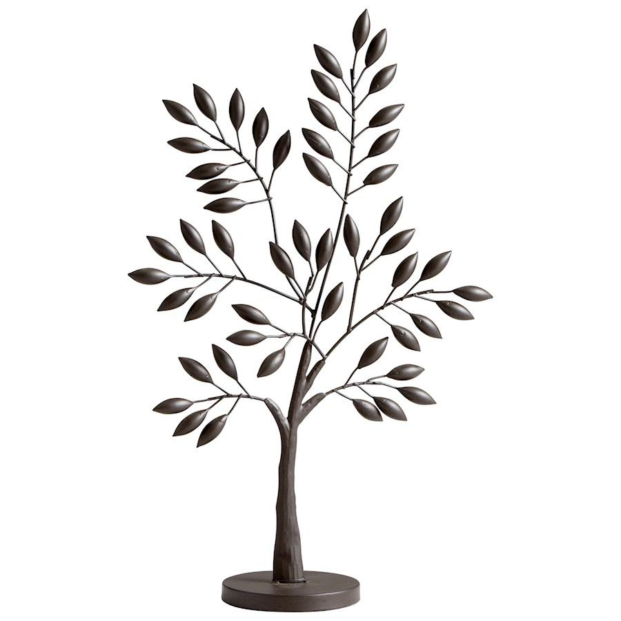 Cyan Design Small Sapling Tree Sculpture, Graphite