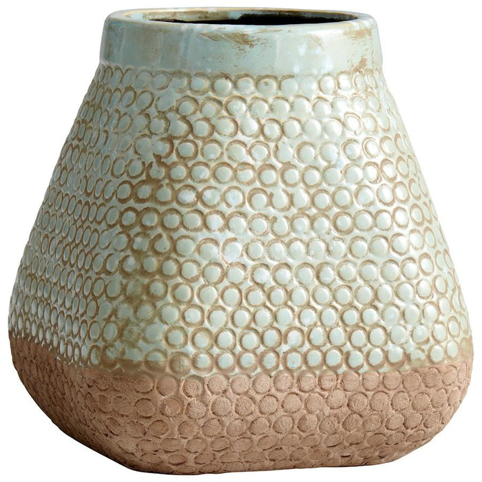 Cyan Design Pershing Planter, Sandstone and Blue