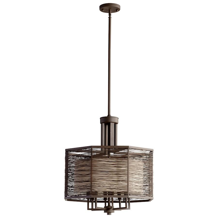 Cyan Design Pascal Eight Light Chandelier, Old World
