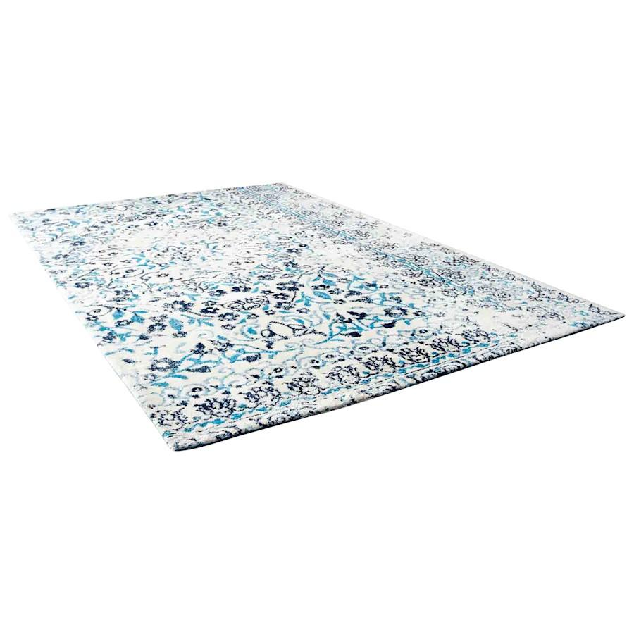 Cyan Design Toungoo Rug, Ivory and Blue