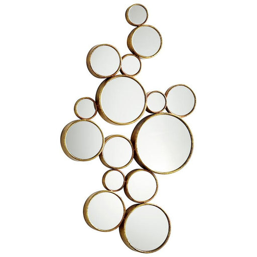 Cyan Design Bubbles Mirror, Gold