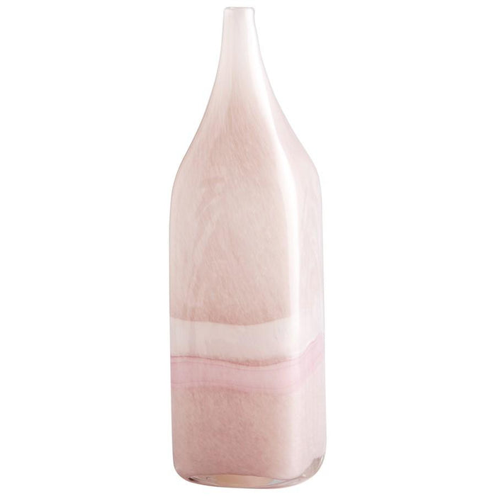 Cyan Design Tiffany Vase, Pink and White