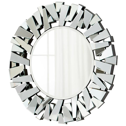 Cyan Design Circle Cityscape Mirror, Clear