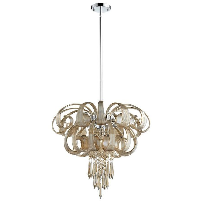 Cyan Design Cindy Lou Who Chandelier, Chrome