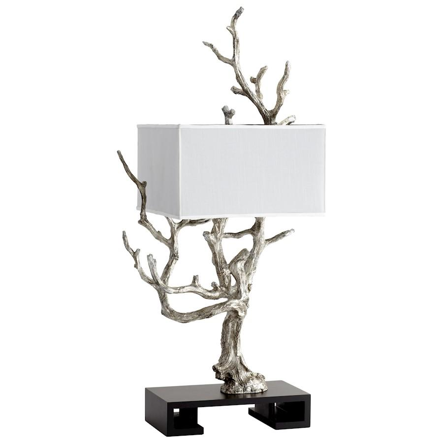 Cyan Design Mesquite Table Lamp, Mystic Silver