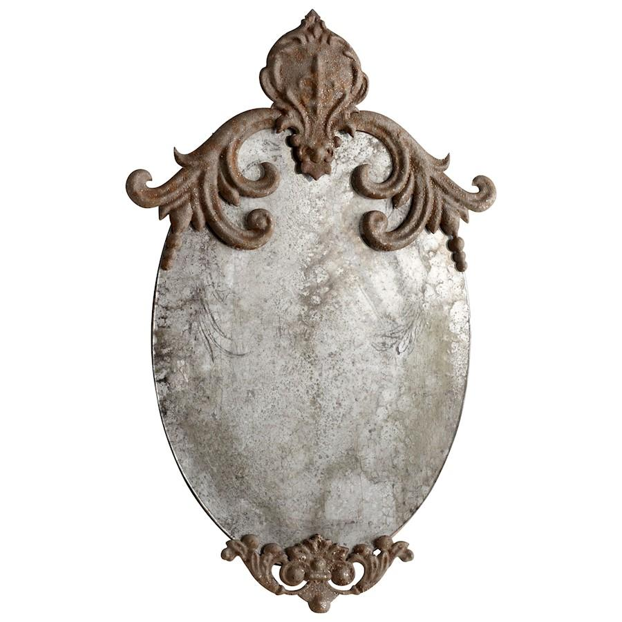 Cyan Design Charlemagne Mirror, Rustic