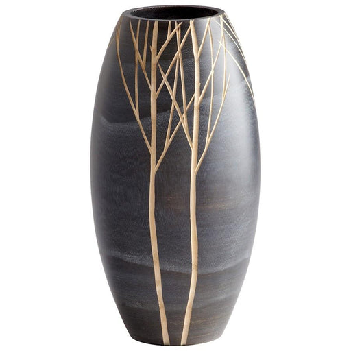Cyan Design Onyx Winter Vase, Black