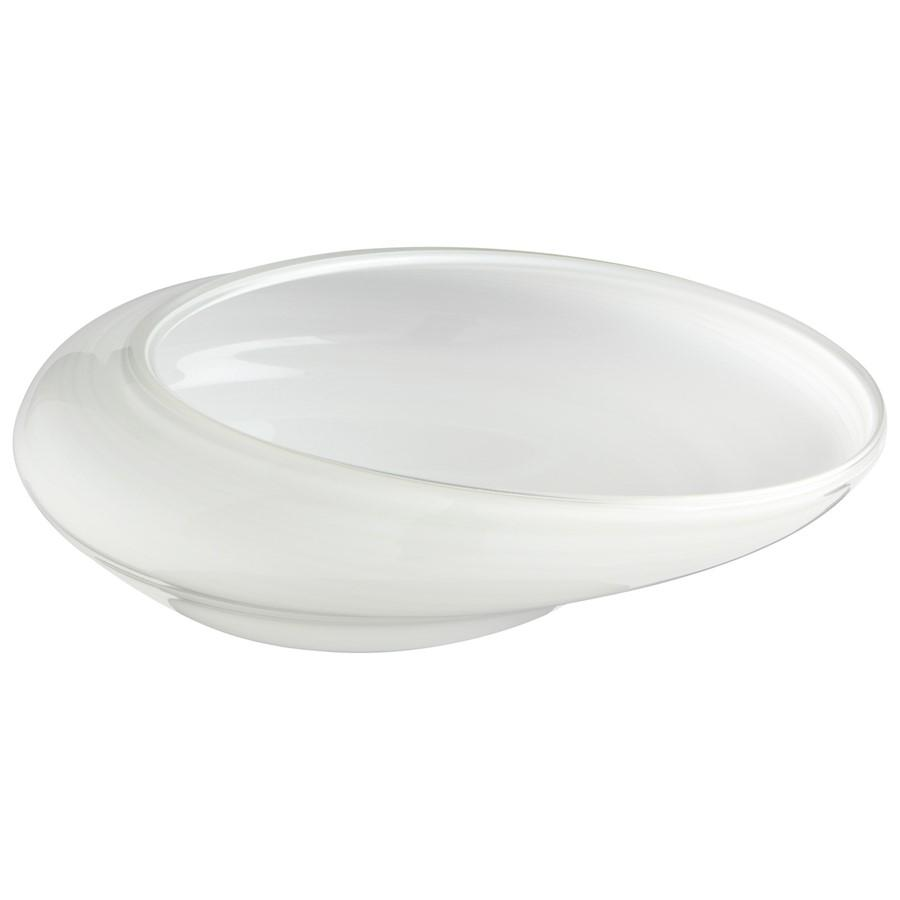 Cyan Design Oyster Bowl, White
