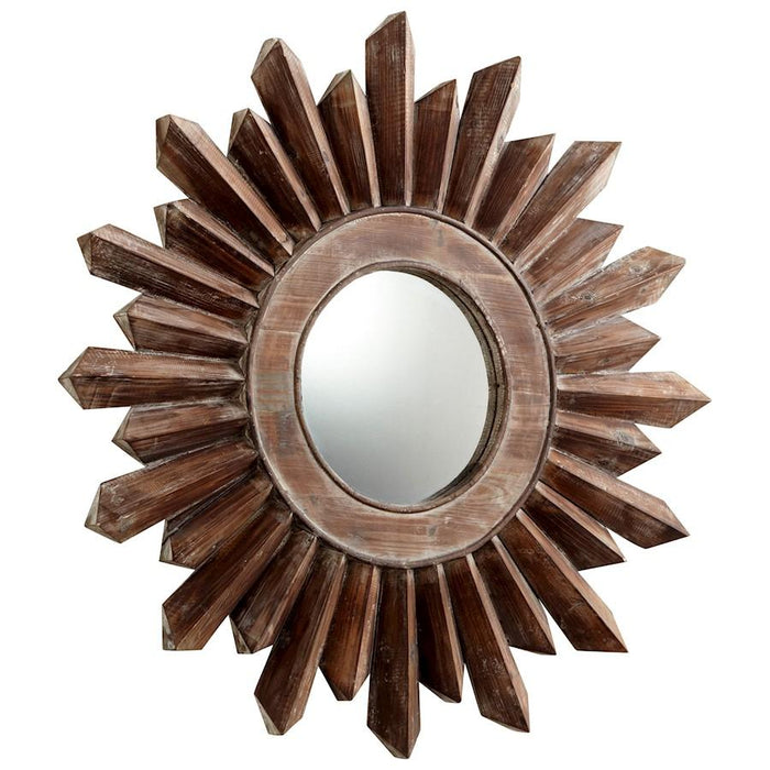 Cyan Design Excalibur Mirror, Walnut
