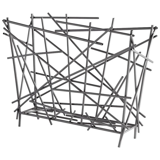 Cyan Design Pick Up Sticks Magazine Holder, Graphite