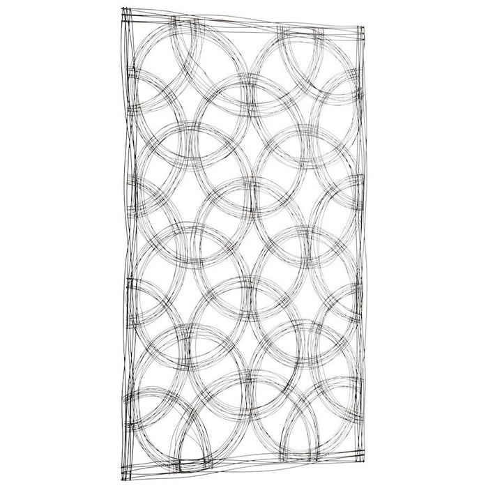 Cyan Design Kaleidoscope Wall Decor, Graphite