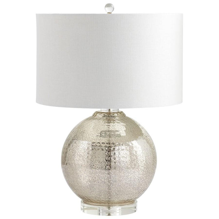 Cyan Design Hammered Reflections Table Lamp, Mercury