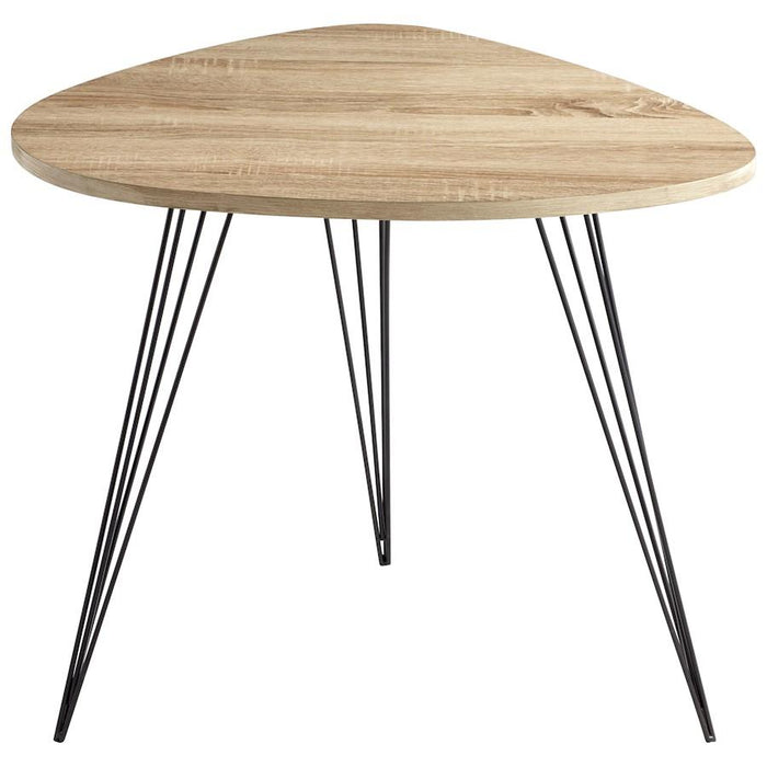 Cyan Design Lunar Landing Side Table, Oak